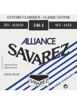 Savarez Allaince-HT Classic Blauw hard tension