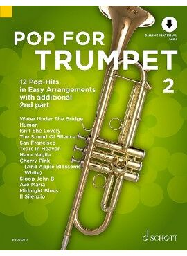 Pop For Trumpet 2 - MP3-Pack