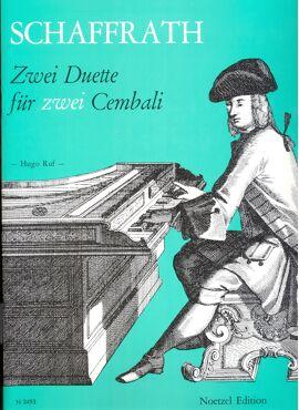Schaffrath 2 DUETTE für zwei cembali