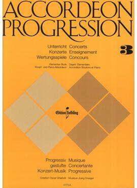 Accordeon Progression Band 3 Elemantar Stufe