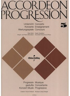 Accordeon Progression Band 5 Oberstufe