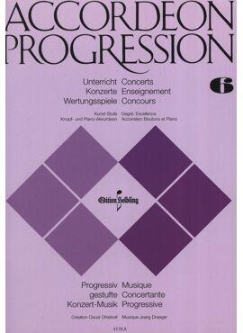 Accordeon Progression Band 6 Kunst-Stufe