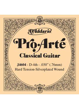 D'Addario J4604 Pro-Arte Nylon Classical Guitar Single String Hard Tension Fourth String