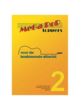 Mega Pop Toppers 2 voor de beginnende gitarist