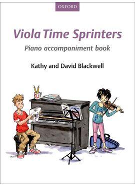 Viola Time Sprinters Klavierbegeleiding