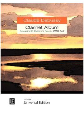 Debussy Claude: Clarinet Album for clarinet and piano