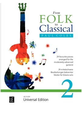 Coles Paul: From Folk to Classical 2 for guitar