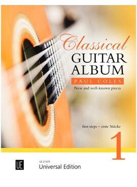 Coles Paul: Classical Guitar Album 1 for guitar