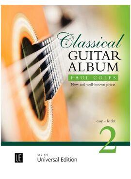 Coles Paul: Classical Guitar Album 2 for guitar