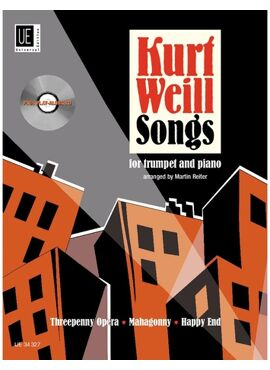 Weill Kurt: Songs for trumpet with CD or piano accompaniment
