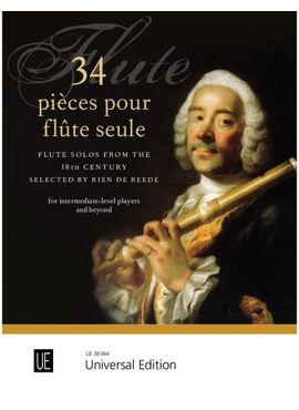 34 pièces pour flûte seule for flute
