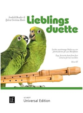 Favourite Duets for 2 recorders (SA/ST)