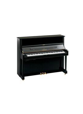 Yamaha piano U1 zwart hoogglans Transacoustic