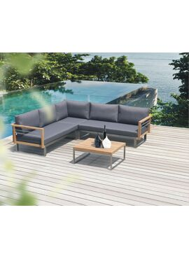 Hawaii Lounge sofa set L met salontafel