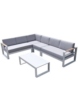 Brizza White Loungeset