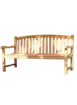 Oval Bench teak