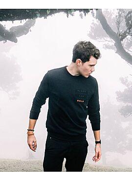 Black&Gold sweater VELCRO