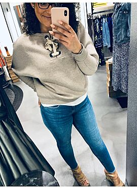 Vila sweater VISOAP