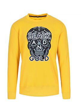 Black&Gold sweater CRANEO NERO ORO