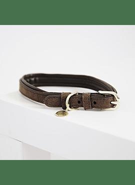 Kentucky hondenhalsband 'Velvet Leather'