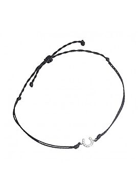 SD® Horse shoe bracelet silver