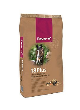 Pavo Essentials: 18Plus muesli