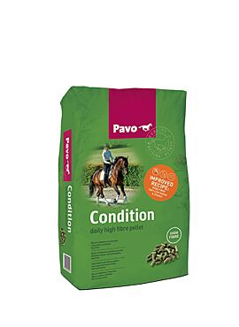 Pavo Essentials: Condition brok
