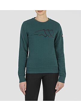 Sweatshirt Graneg met strass