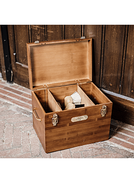 Kentucky Grooming Deluxe Tack box poetskist 30x40x28
