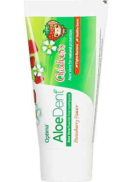 Aloe Dent Children kindertandpasta Aardbei 50ml
