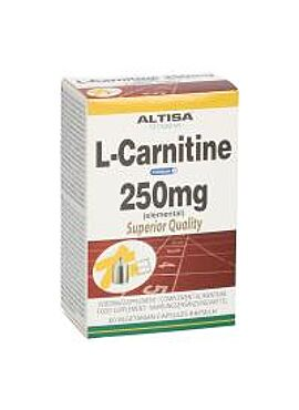 L-Carnitine 250 mg 60 caps