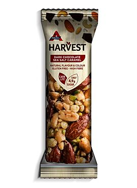 Atkins Harvest reep Dark Chocolate Salt Caramel 40g