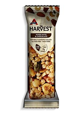Atkins Harvest reep Mixed Nuts & Chocolate 40g