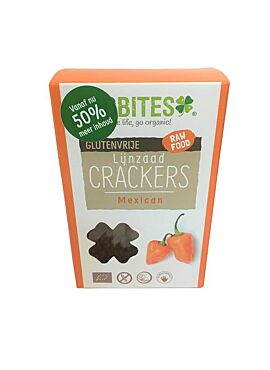 Lijnzaad crackers mexicaans 90g
