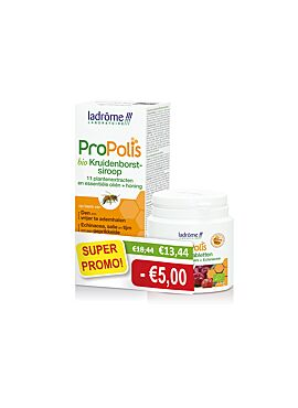 DUO Bio Propolis siroop 150ml + bio Propolis tabletten 40 kauwtbl