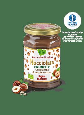 Nocciolata Crunchy hazelnootpasta GV 270g