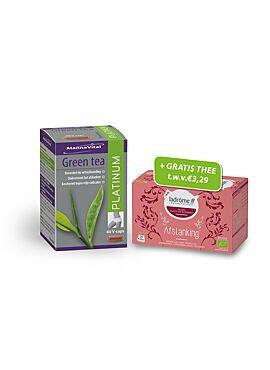 AKTIEPAK: Green Tea Platinum met gratis thee afslanking