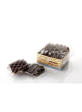 Speltwafel z/s met zoetstof en chocolade 170g