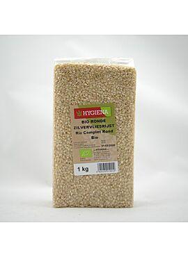 Zilvervliesrijst rond bio 1kg