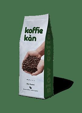 Koffie Kan Suave koffiebonen bio 250g