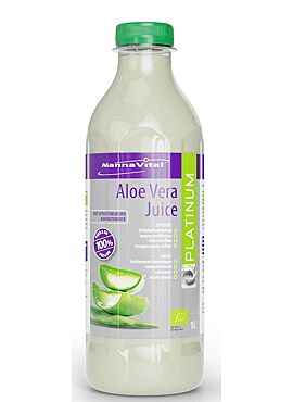 Aloe Vera Juice bio ongefilterd 1l