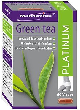 Green Tea platinum 60 vcps