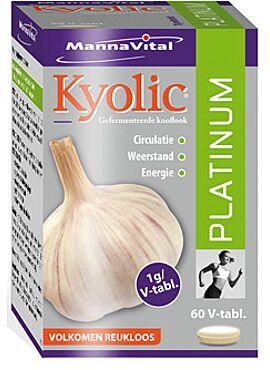 Kyolic Platinum gefermenteerde knoflook 60vcps