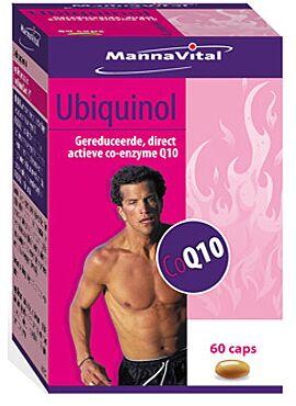 Ubiquinol Q10 50mg 60cps