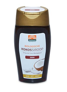 Kokossiroop Dark Bio 250ml