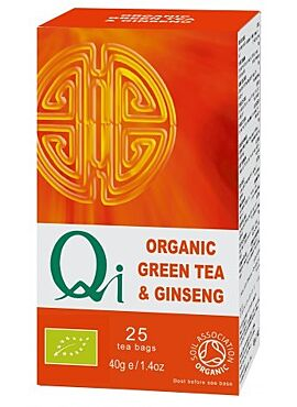 Qi Groene thee Ginseng 25 builtjes