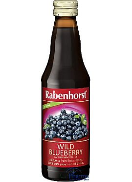 Wilde bosbessensap 330 ml