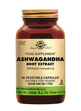 Ashwagandha Root Extract  60 vcps
