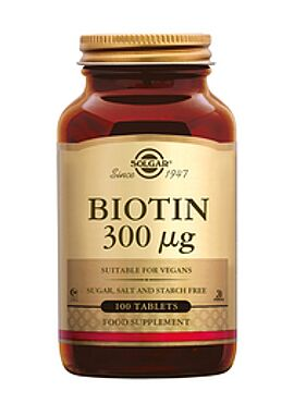 Biotin 300 µg 100 tbl
