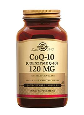 Co-Enzyme Q-10 120 mg 30 vcps